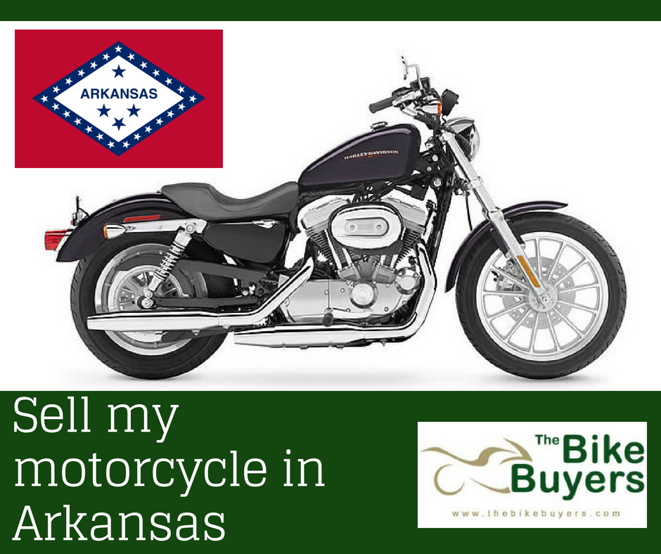 Sell my motorcycle in Arkansas